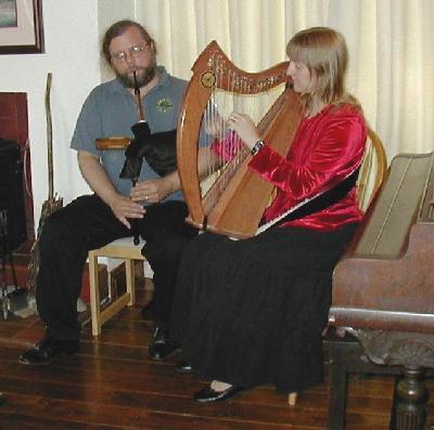 Port Righ, playing at Anam Cara, Ireland
