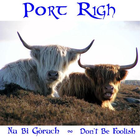 cover of Port Righ's album, Na Bi Gorach